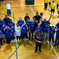 Client vs. Staff March Madness Basketball Game