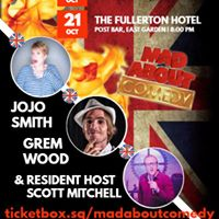 Mad About Comedy at The British Club
