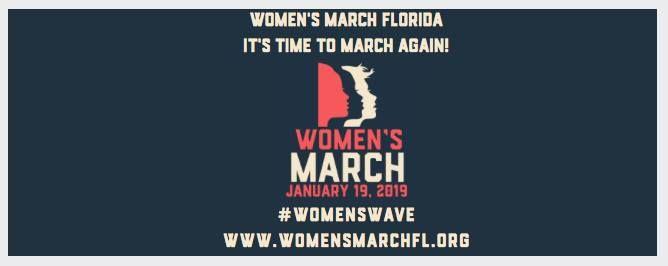 Womens March FL - 3rd Annual Womens March on Washington