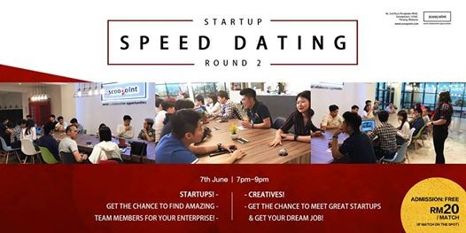 Speed dating creatives