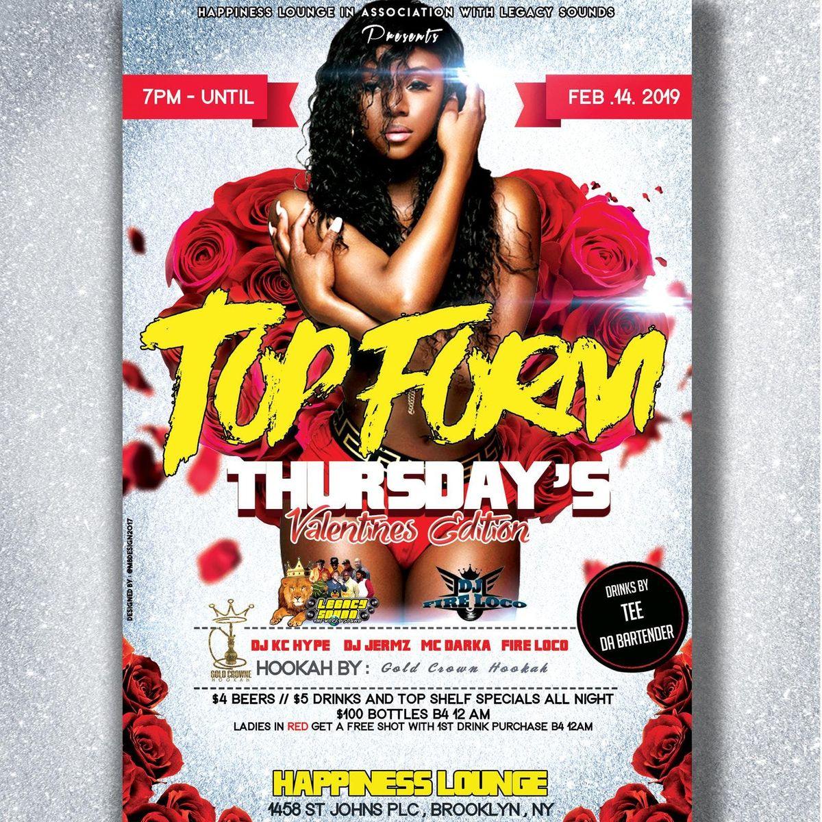 Top Form Thursday