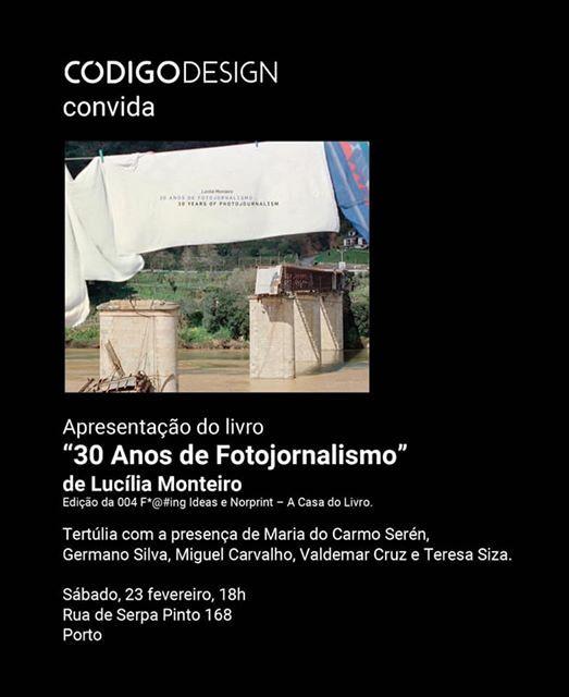 30 Anos de Fotojornalismo de Luclia Monteiro
