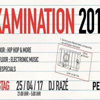 Examination Party 2017