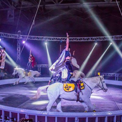 Garden Bros Circus At South Florida Fairgrounds Arena