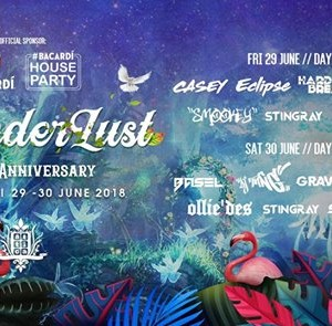 Atticas 14th Anniversary - Wanderlust Fri &amp Sat 29th30th June