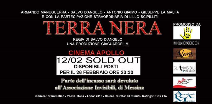 TERRA NERA - al Cinema Apollo
