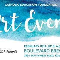 CEF Futures Art Event at Boulevard Brewery