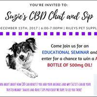 Suzies CBD Chat and Sip Seminar