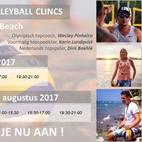 Top Beachvolleybal Clinics Scheveningen
