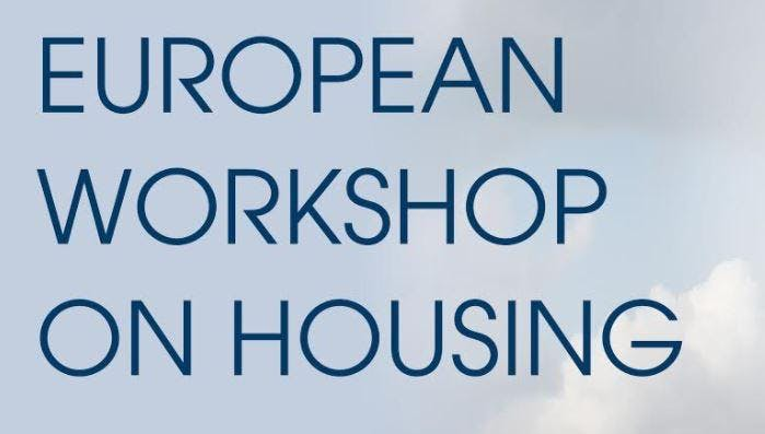 The European Experience - lessons from abroad in housing.
