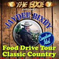 Jaydee Bixby - &quotClassic Country Food Drive Tour&quot