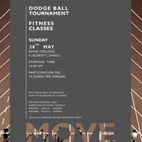 Dodgeball and Fitness - MOVE Fundraising Activity