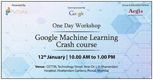 Google Machine Learning Crash Course
