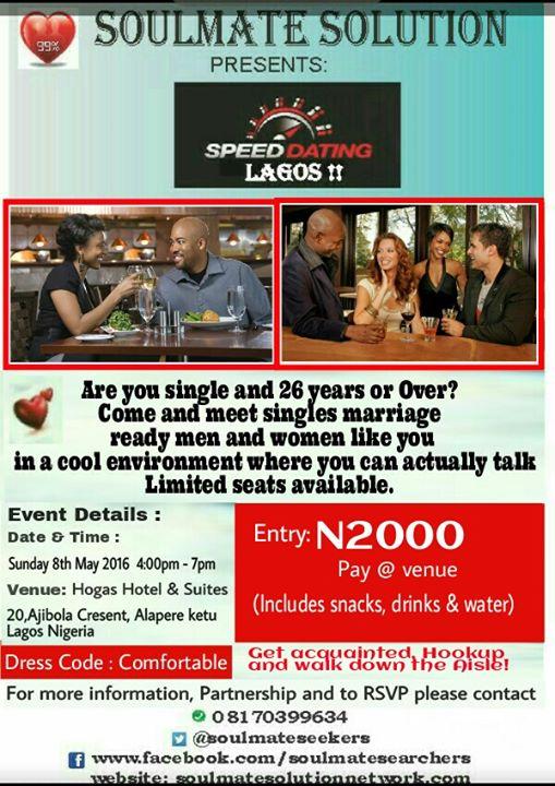 Lagos Speed Dating