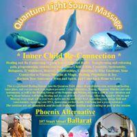 Ballarat Inner Child Re-Connection Sound Massage Journey