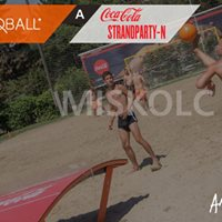 Teqball a Coca-Cola Strandparty-n
