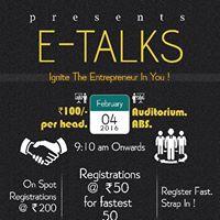 E-TALKS