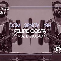 Msica ao vivo no Calado com Filipe Costa