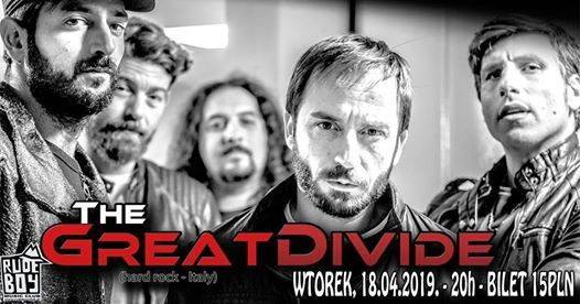 Concert - The Great Divide (hard rock - Italy)