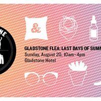 Gladstone Flea Last Days of Summer Edition