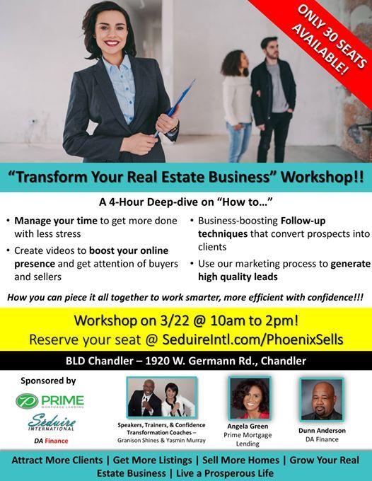 Phoenix RE Agents - Transform Your Real Estate Business Workshop