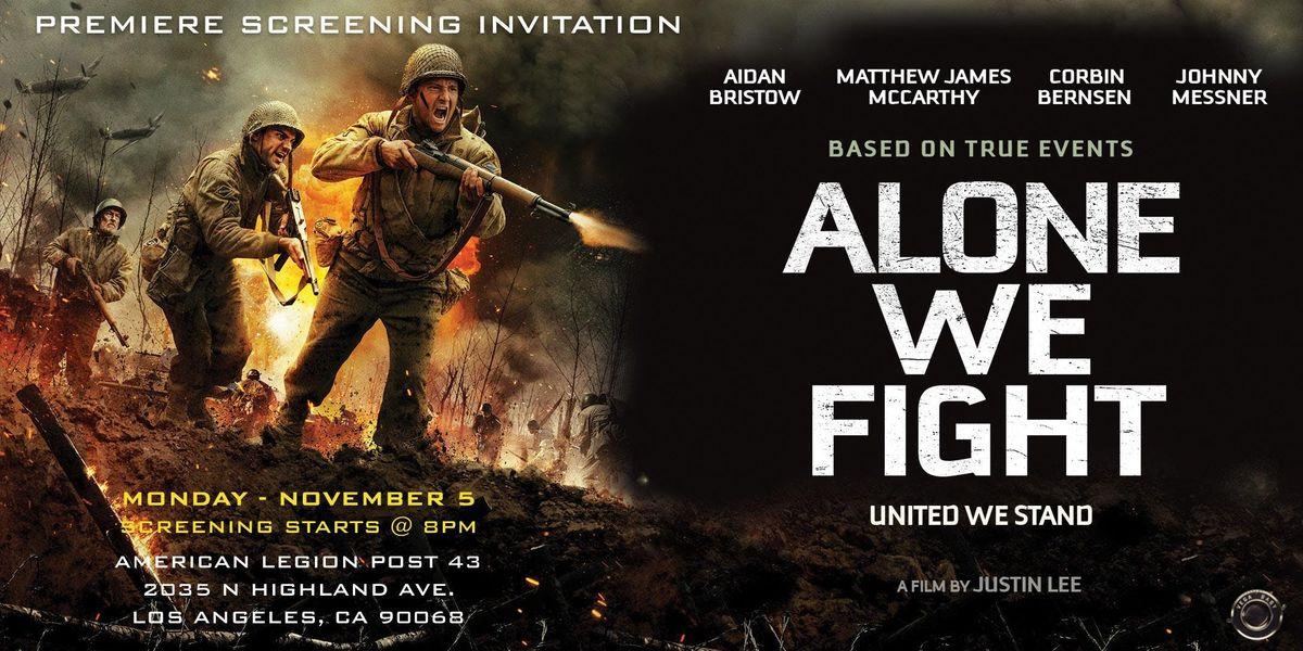 alone we fight full movie