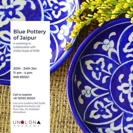 Blue Pottery of Jaipur - Workshop
