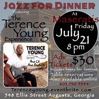 Jazz for Dinner in Augusta Ga with The Terence Young Experience