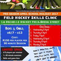 Pre-Season Hockey April School Holiday