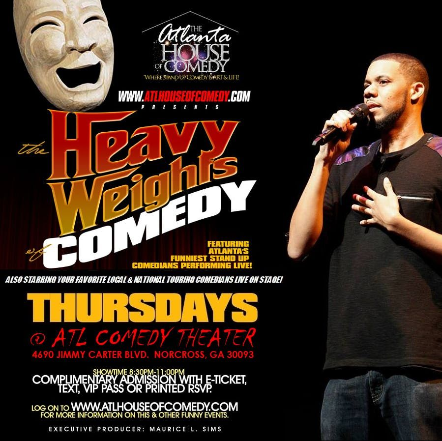The Heavyweights of Comedy this Thursday