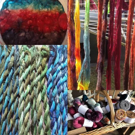 Yarn Dyeing at Ditzy Rose Makery