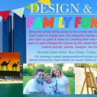 Design &amp Dine - Painting Brunch (family friendly)