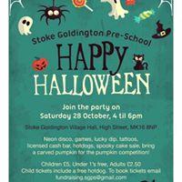 Stoke Goldington Halloween Party