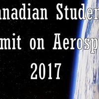 Canadian Student Summit on Aerospace 2017