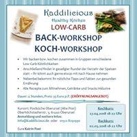 Kaddilicious - Low-Carb Backkurs