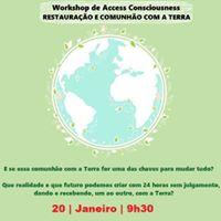 Workshop Restaurao e Comunho com a Terra
