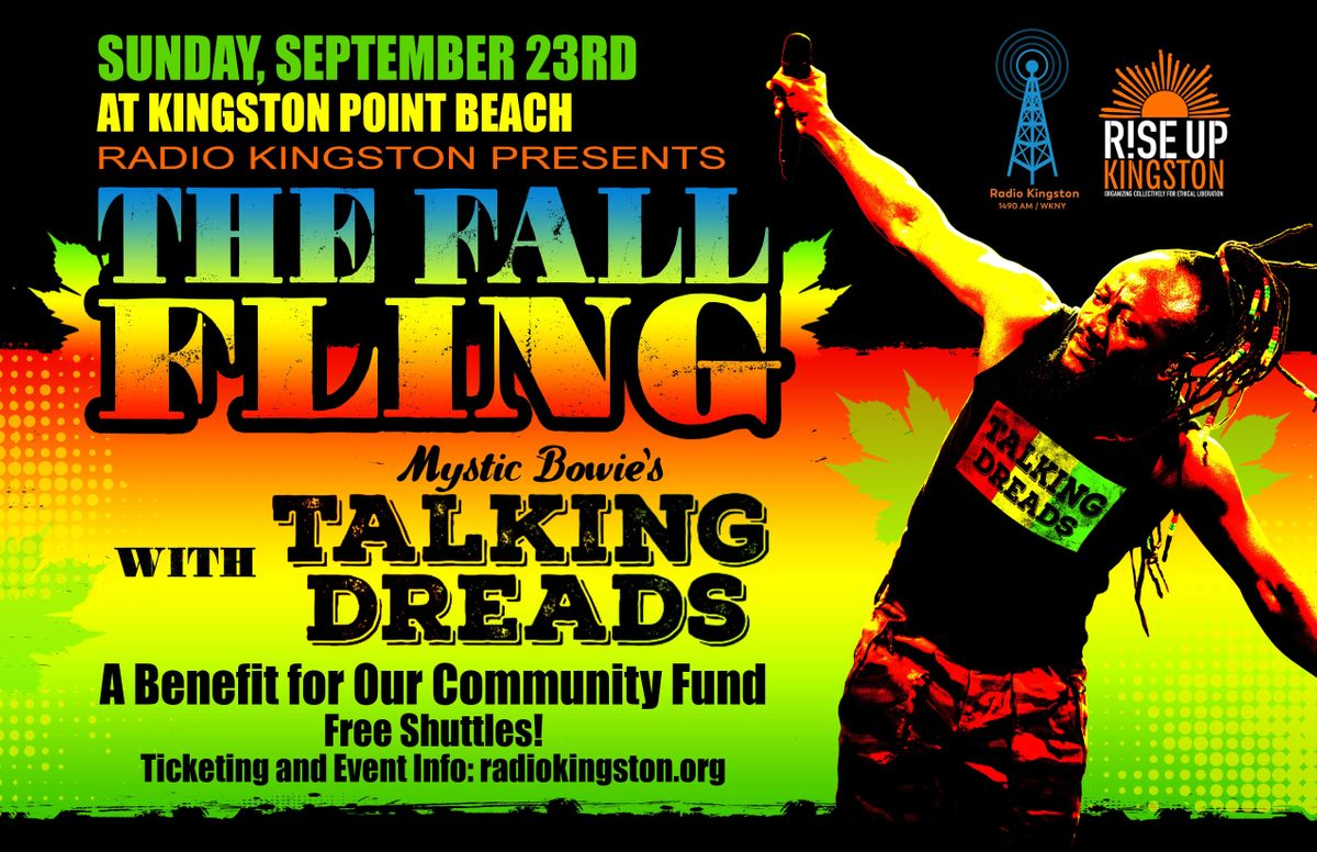 The Fall Fling with Mystic Bowies Talking Dreads at Kingston
