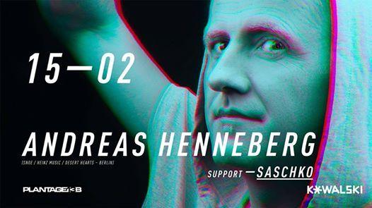 Andreas Henneberg im Kowalski - Support Saschko