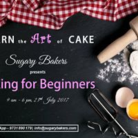 Baking for Beginners - A Workshop by Sugary Bakers