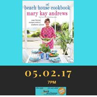 Mary Kay Andrews the Beach House Cookbook Event