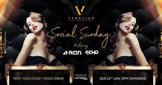 Social Sunday Ft. DJ Remo DJ Aron & VDJ Nikhil