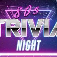 Awesome 80s Trivia Night at Bar One Kelowna.