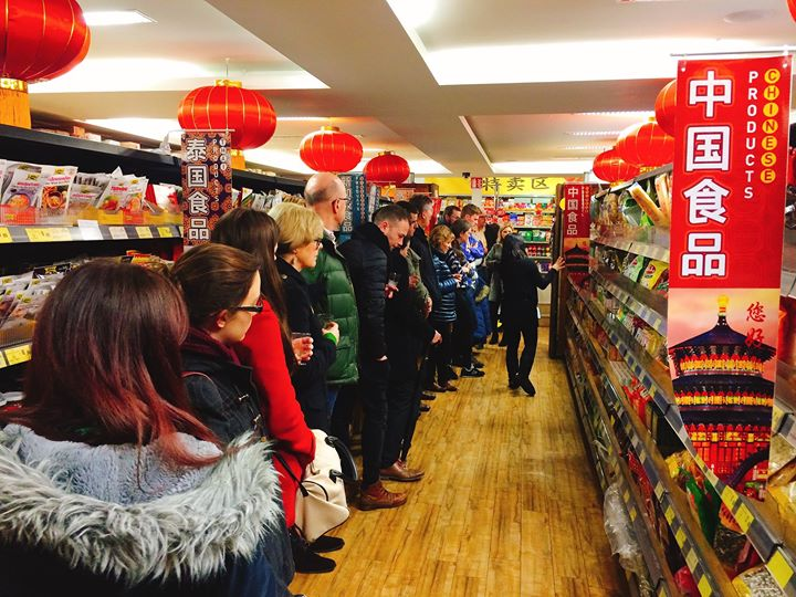 Asia Market Food Tours-Part of the Chinese New Year Celebration