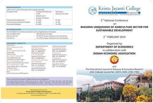 National Conference  Economics