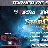 Torneo de Starcraft II LOTV Rumbo al TGS 2017