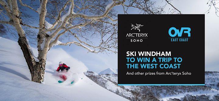 Arcteryx X OvR at Windham Mountain