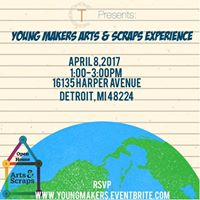 Young Makers Arts &amp Scraps Experience