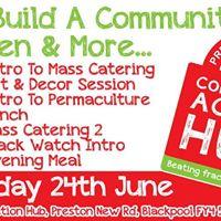 Come help build the Preston New Road Community Action Hub