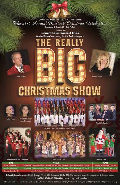 really big christmas show - Maryland Christmas Show