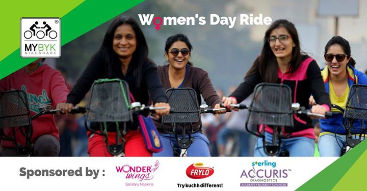 Womens Day Ride with MYBYK Cycling